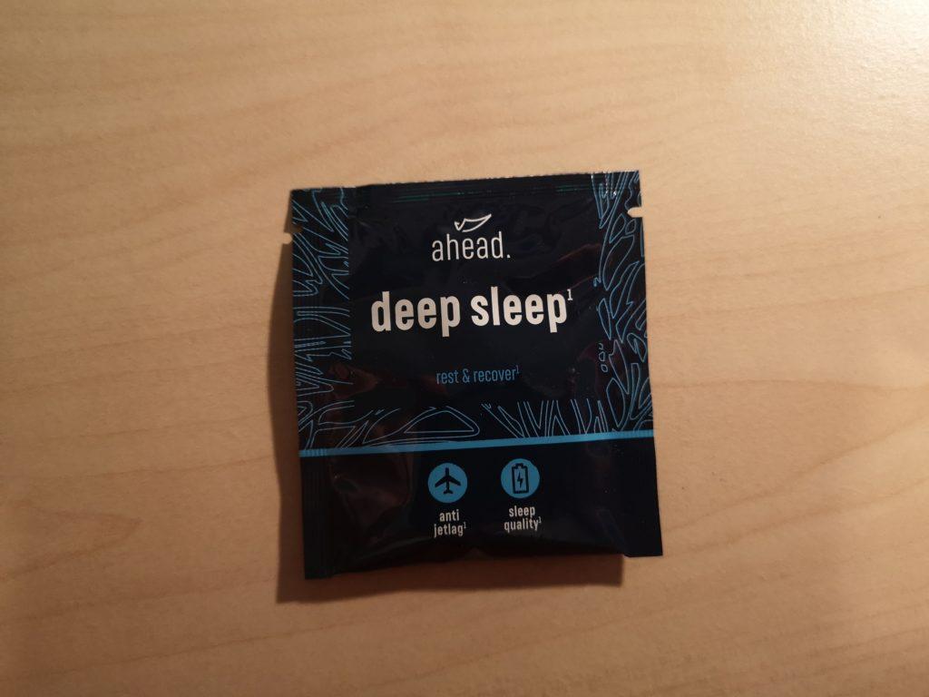 Eine Probe von ahead deep sleep