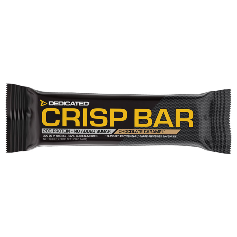 Proteinriegel Crisp Bar von Dedicted Nutrition