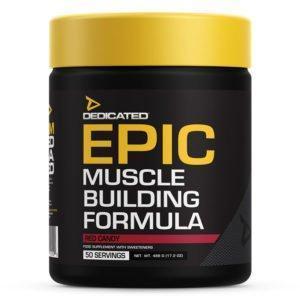Epic Muskelaufbau Formel Dedicated