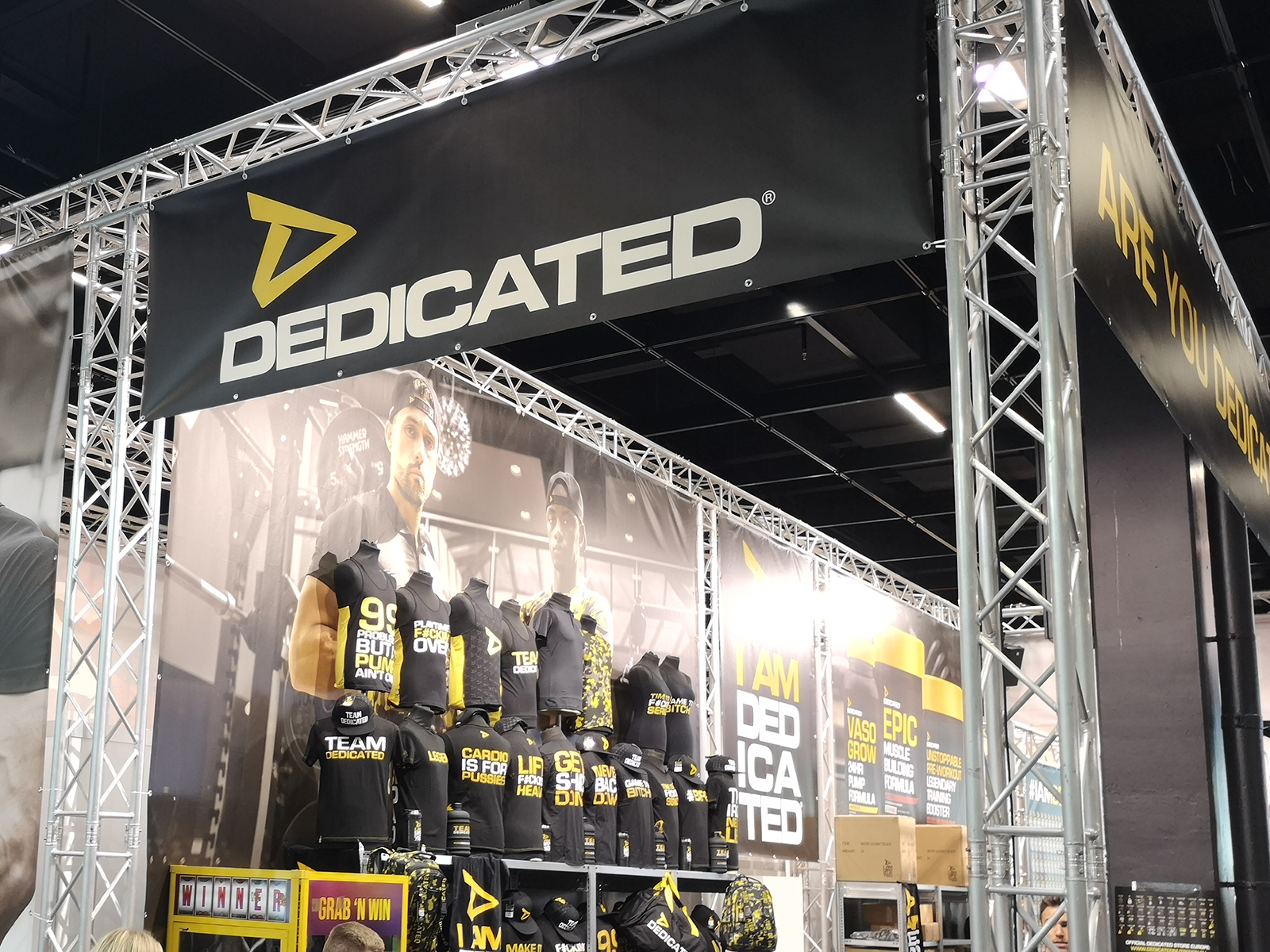 Dedicated Nutrition auf der Fibo 2019