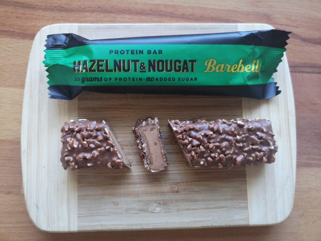 Barebells Protein Riegel Haselnuss und Nougat