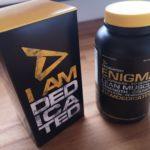 ENIGMA das Muskelaufbau Supplement von Dedicated Nutrition