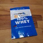 GymPro Premium Whey Protein Pulver - Produkt Test