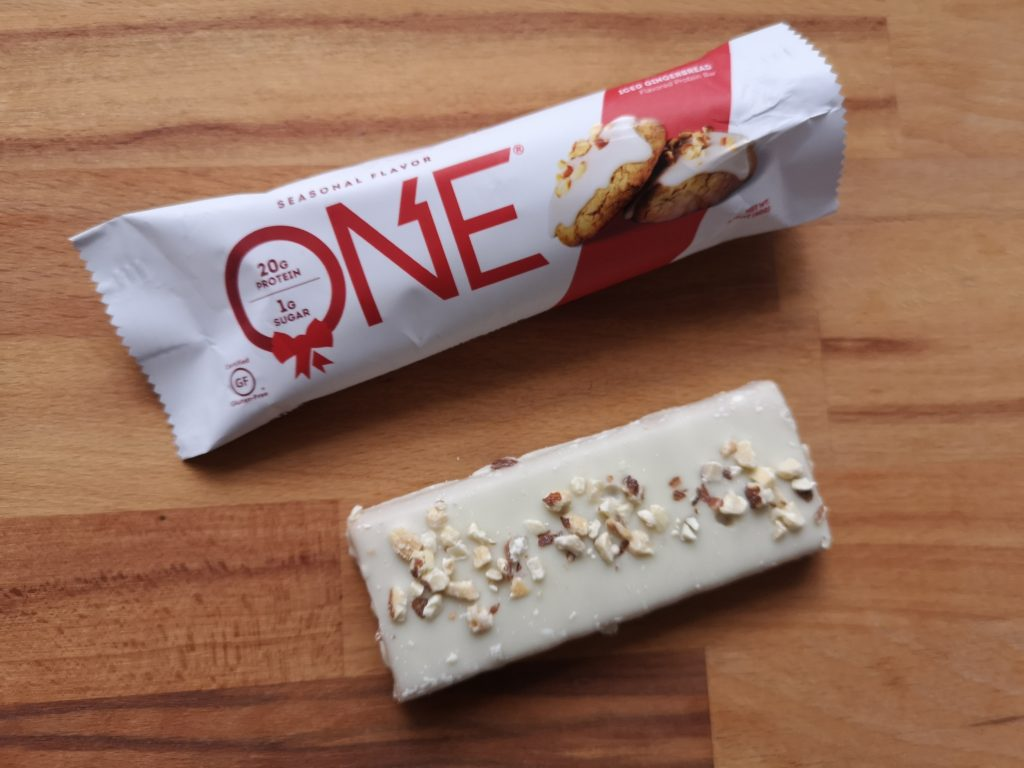 One Bar Iced Gingerbread