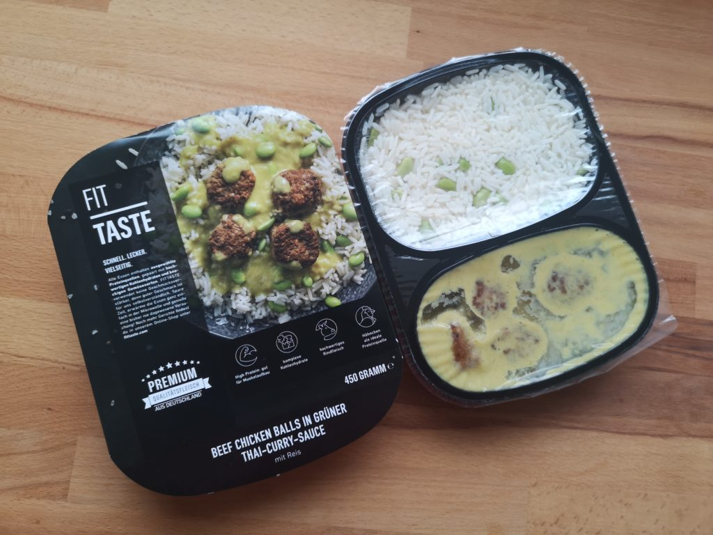 Leckere Gerichte von FITTASTE im Test