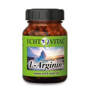 L-Arginin Kapseln - Supplement aus pflanzlicher Fermentation