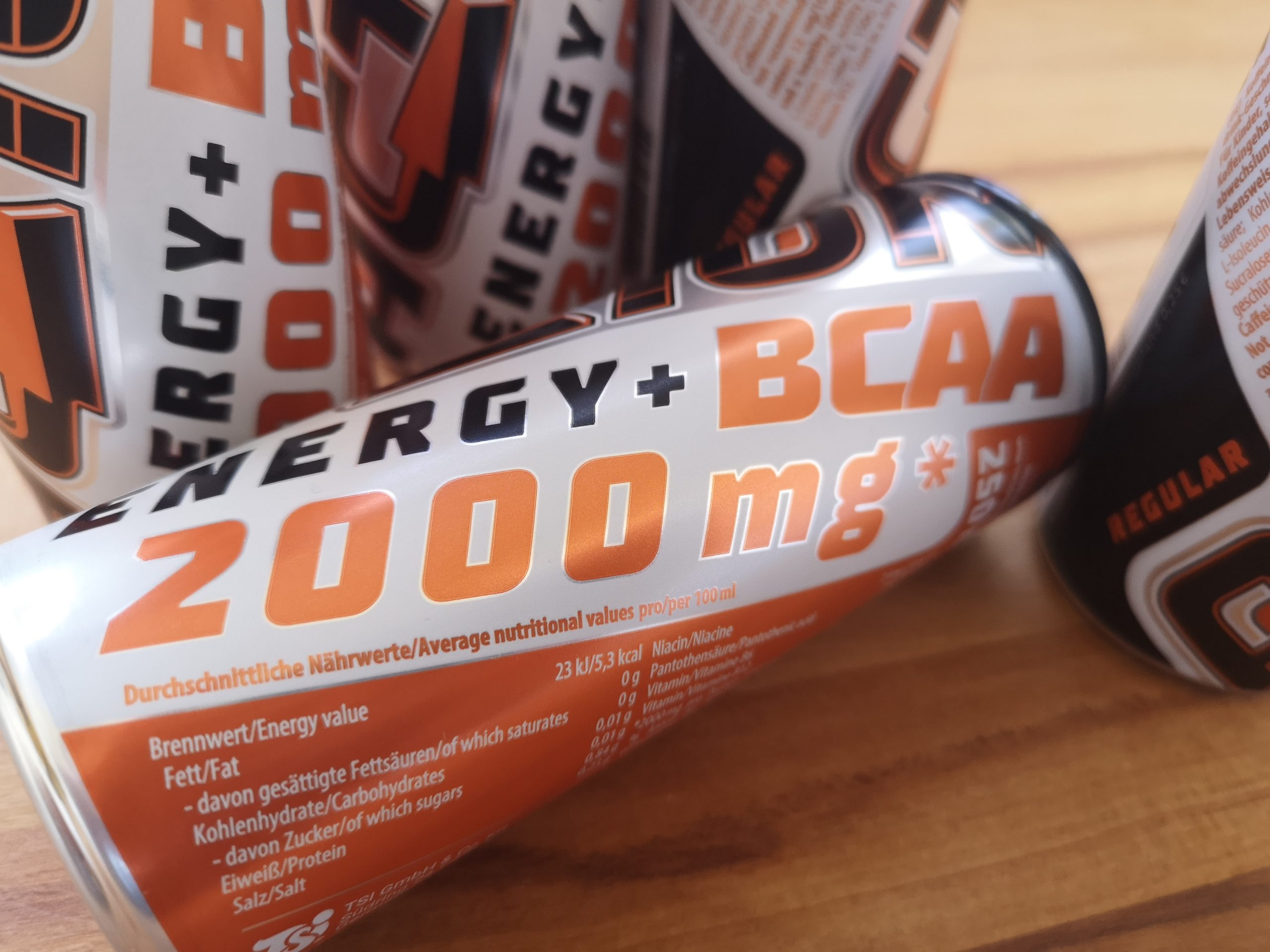 ACTION BCAA Energy Drink
