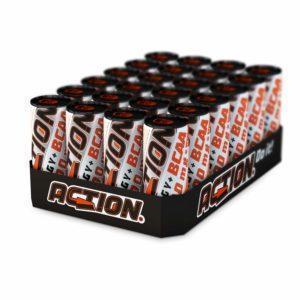 ACTION Energy BCAA Drink EINWEG, 24 x 250 ml, Hochleistungsgetränk mit 2.000 mg BCAA