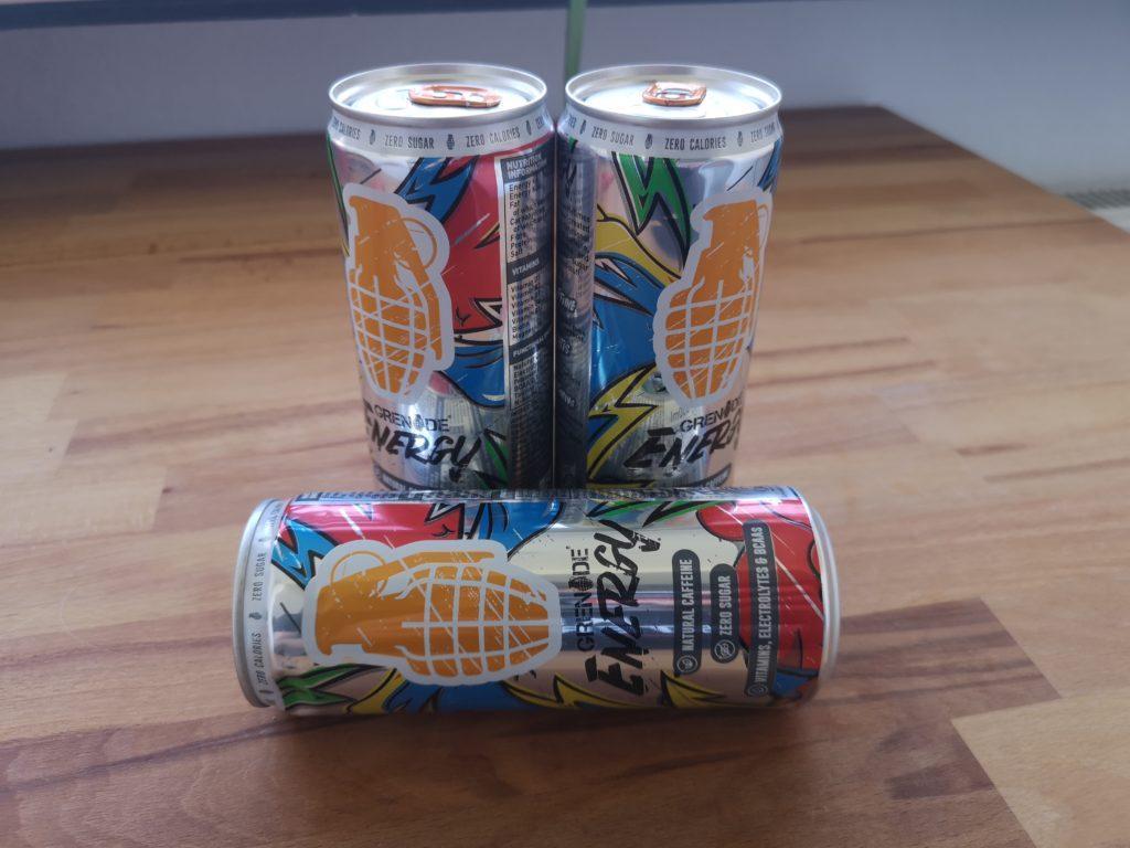Großartige Wirkung von Grenade Energy Drink