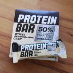 Lidl Protein Bar Weiße Schokolade Crisp im Test