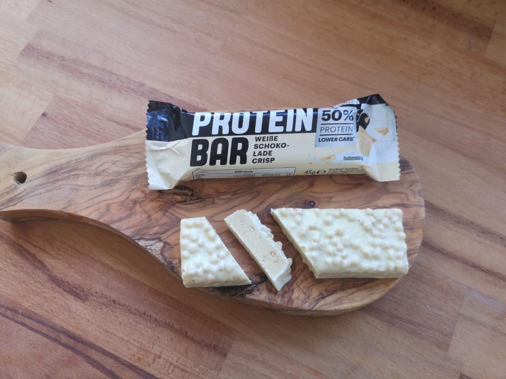 Ausgepackter Lidl Protein Bar