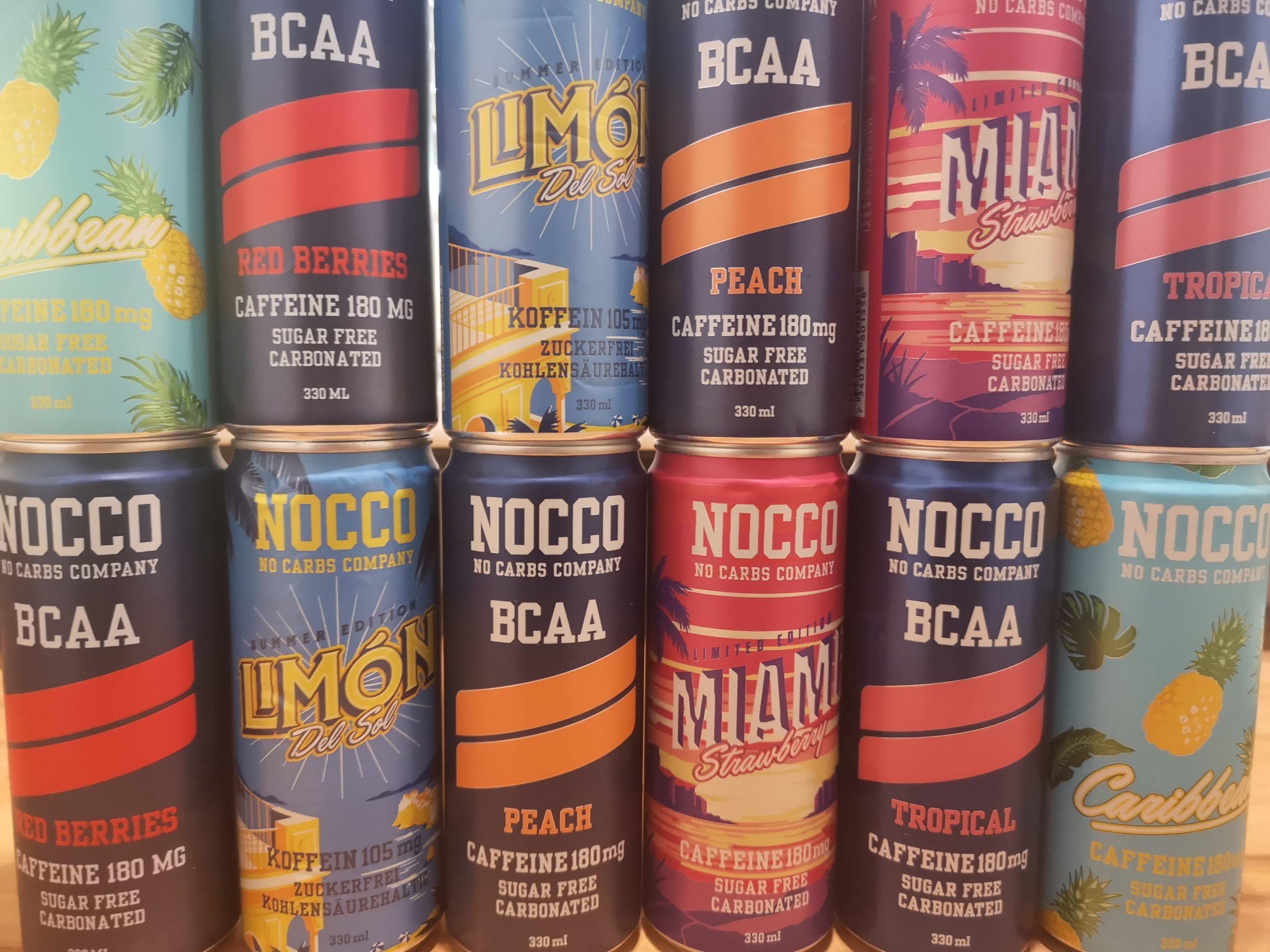Nocco BCAA Auswahl