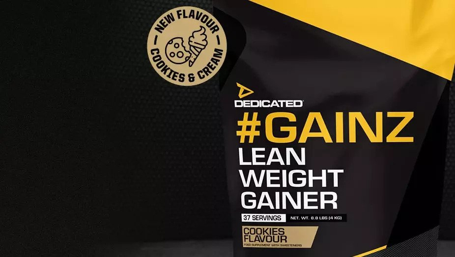 #Gainz von Dedicated Nutrition
