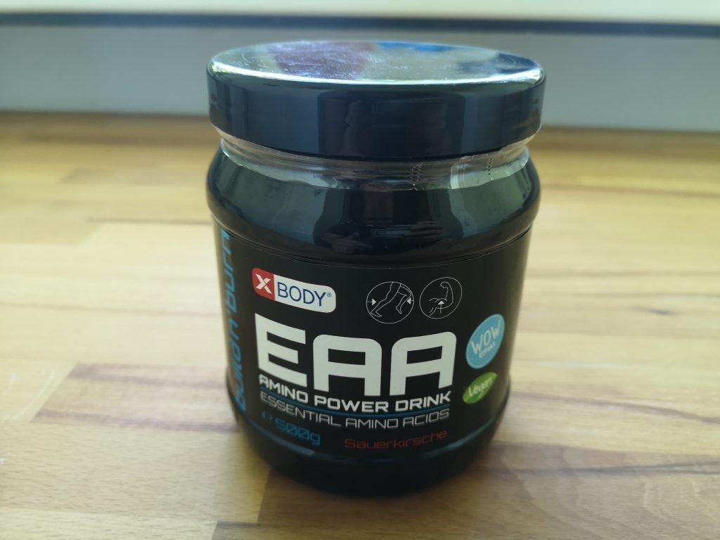 XBODY EAA Amino Power Drink im Test