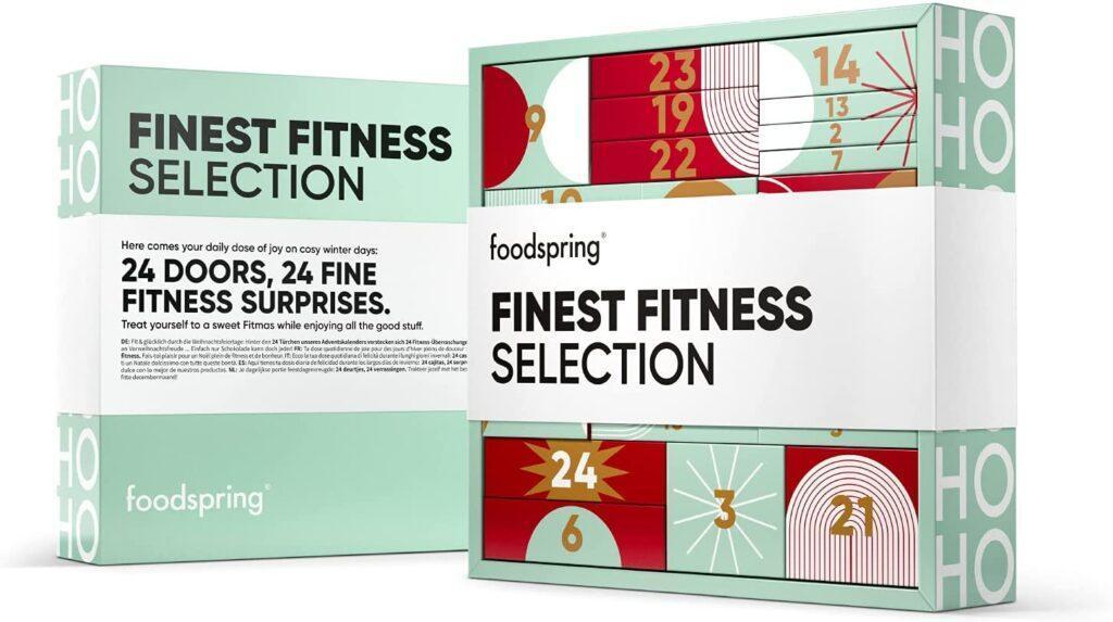 foodspring Finest Fitness Selection Adventskalender 2021